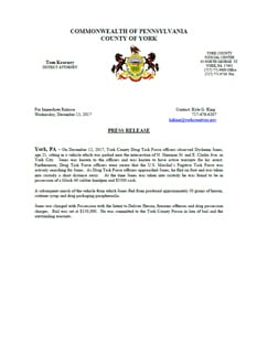 Press Release - DTF (Dysheem Jones)