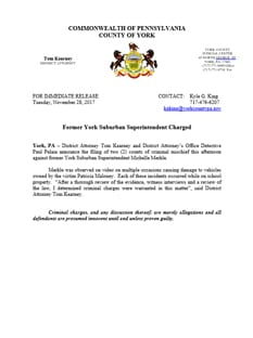 Press Release - Merkle charged
