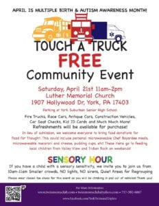 Touch A Truck FREE Community Event