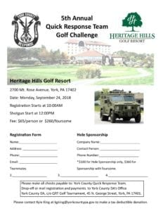 5th Annual Quick Response Team Golf Challenge